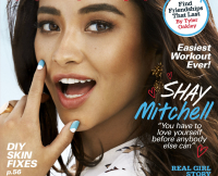 Shay Mitchell on 17 Magazine Cover