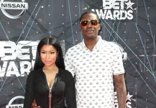 Nicki Minaj and Meek Mills at 2015 BET Awards