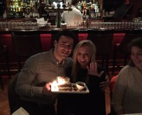 Matt Lombardi and Nastia Liukin