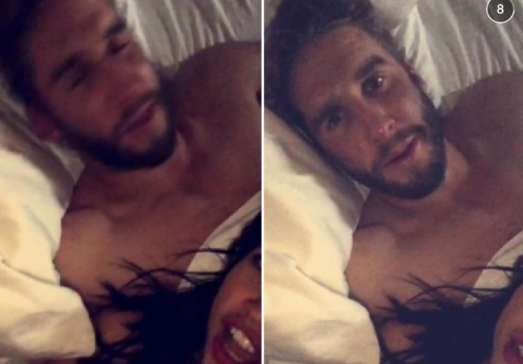 Kaitlyn Bristowe and Shawn Booth Snapchat