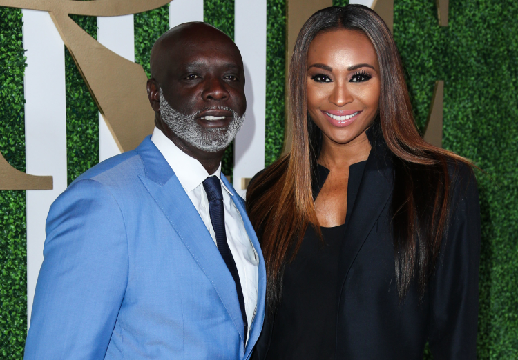 Cynthia Bailey and Peter Thomas Arrive at the 2015 BET Awards - Debra L. Lee's Pre-BET Awards Dinner
