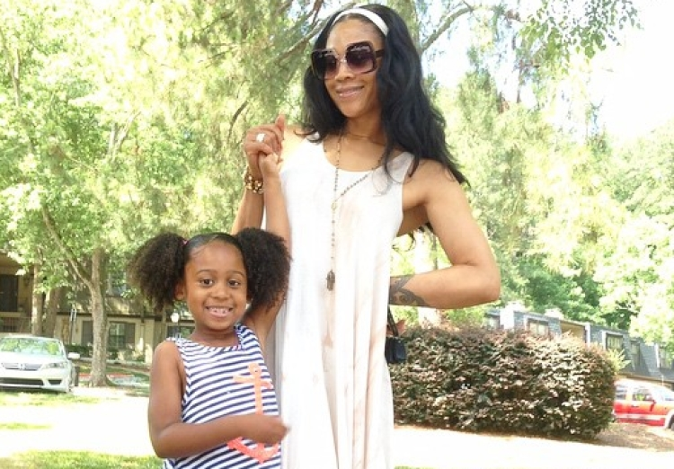 Mimi Faust and Daughter Eva Giselle