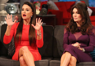 Lisa Vanderpump and Kyle Richards Film RHOBH Season 6 in Italy