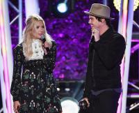Ashley Benson and Tyler Blackburn MTV Fandom Awards San Diego - Show