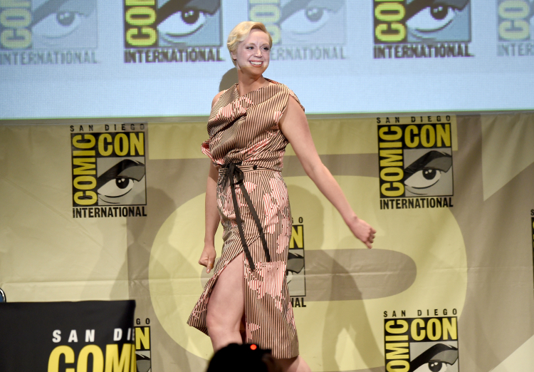 Game of Thrones's Gwendoline Christie Comic-Con International 2015 - Entertainment Weekly: Women Who Kick Ass Panel