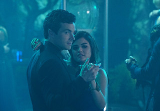 \'Pretty Little Liars\': Lucy Hale Sends Ian Harding the Cutest Message
