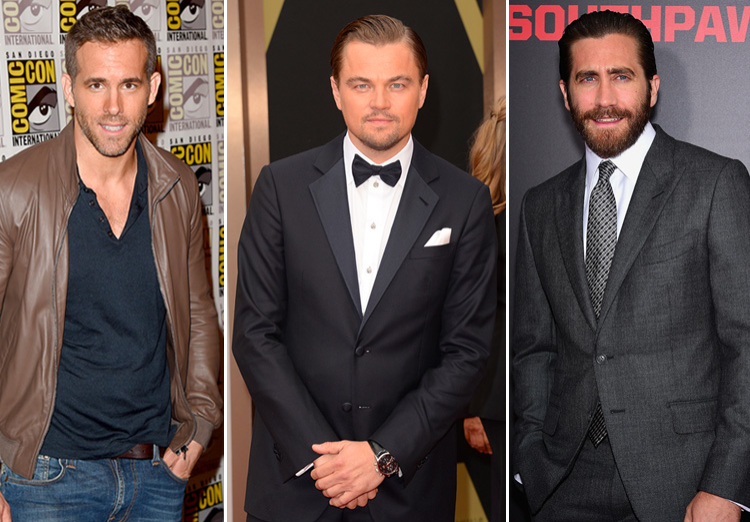 Celebrity Guys Who Have a Type