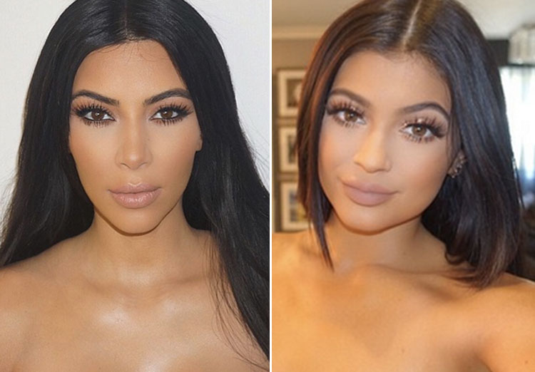 Kim Kardashian and Kylie Jenner — Photographic Proof That ...
