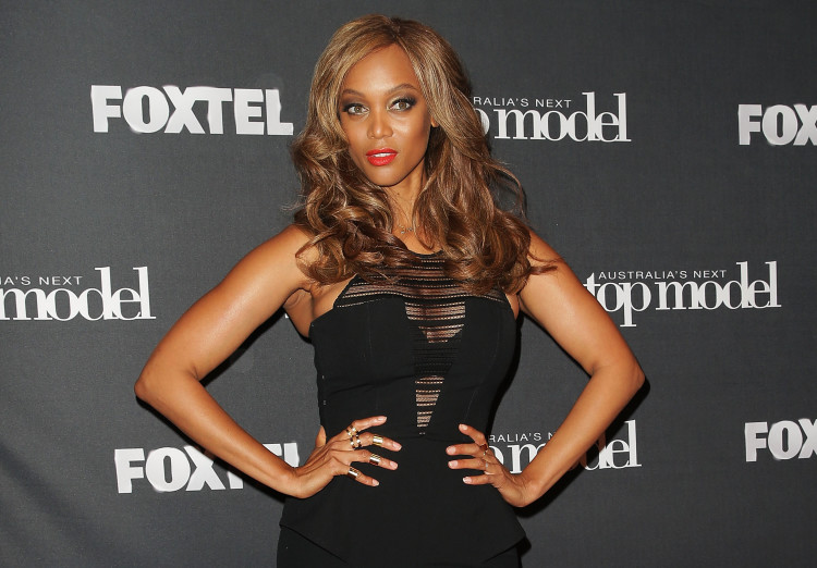 Tyra Banks Australia's Next Top Model Welcomes Tyra Banks