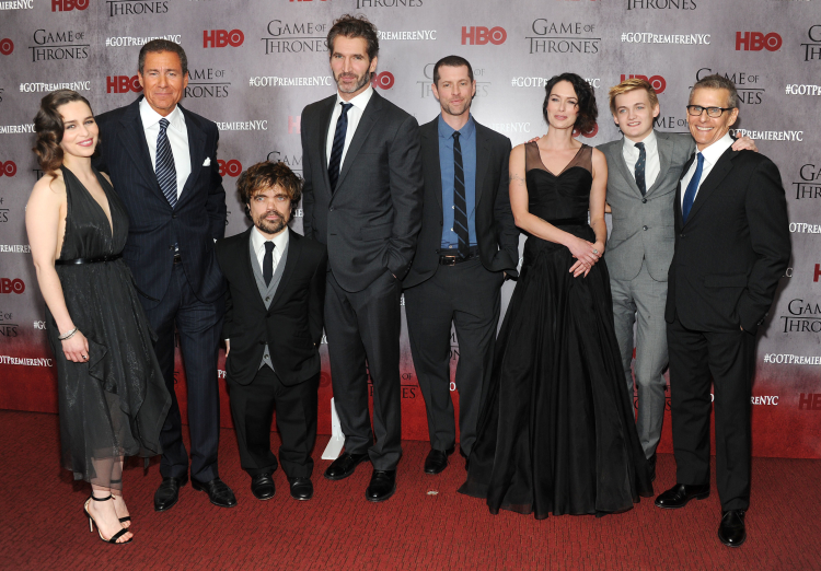 Game of Thrones Cast at Season 4 New York Premiere