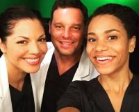Sara Ramirez, Justin Chambers, Kelly McCreary, Grey's Anatomy, Scrubs