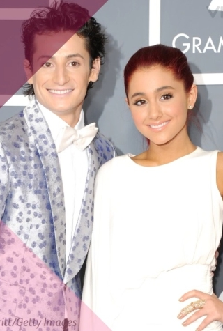 Ariana and Frankie Grande