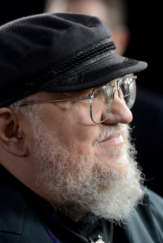 "George R. R. Martin at Premiere Of HBO's ""Game Of Thrones"" Season 3"