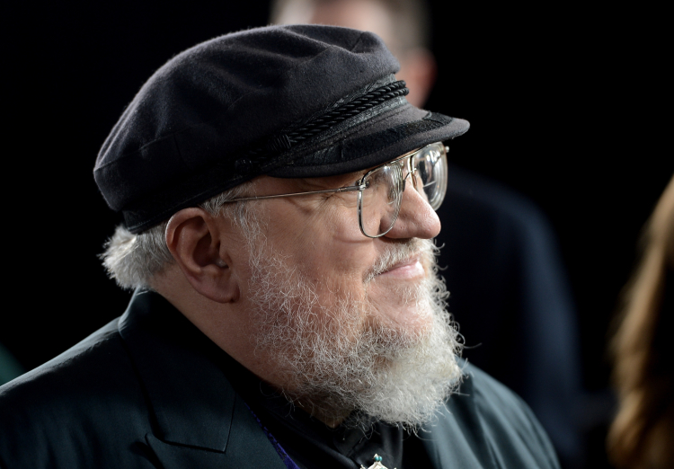 """George R. R. Martin at Premiere Of HBO's """"Game Of Thrones"""" Season 3"""