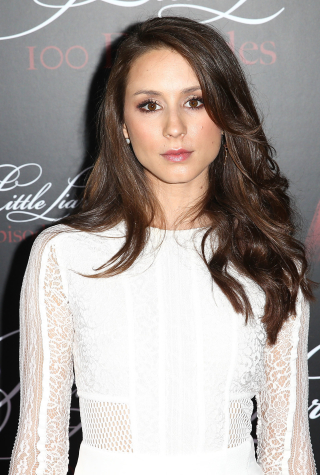 Troian Bellisario at Pretty Little Liars Celebrates 100 Episodes