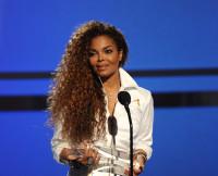 Janet Jackson Accepts Award at 2015 BET Awards show