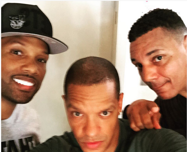 Love & Hip Hop's Peter Gunz With Mendeecees Harris and Rich Dollaz