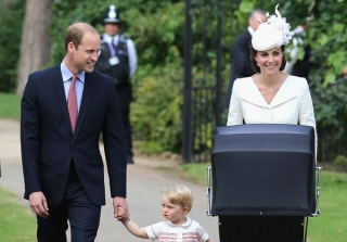 Prince William, Kate Middleton and Family Pose for Royal Christening Photos!