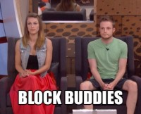 BB17 Becky and John on the Block