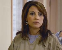Elizabeth Rodriguez as Diaz on Orange Is the New Black