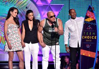Vin Diesel, <em>Furious 7</em> Cast Dedicate Teen Choice Award to Paul Walker's Daughter