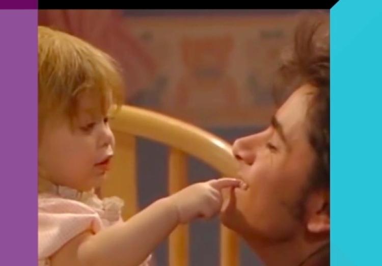 John Stamos and Ashley Olsen