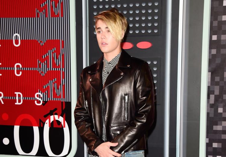 Justin Bieber at the 2015 MTV VMAs