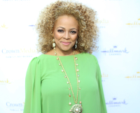 Kim Fields in July 2014