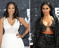 Mimi Faust and Joseline Hernandez at BET Awards 2015