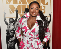 Phaedra Parks Attends Magic Mike XXL Ladies Night Out Advanced Screening at Landmark Midtown Art Cinema on June 23, 2015 i