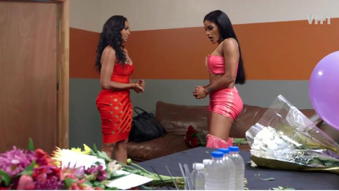 Joseline hernandez calls karlie redd fake in season finale sneak