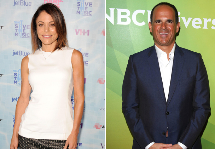 Bethenny Frankel and Marcus Lemonis