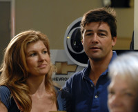 Connie Britton, Kyle Chandler, Friday Night Lights
