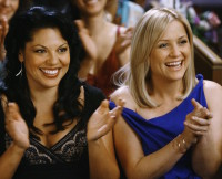 Callie Torres, Arizona Robbins, Grey's Anatomy, Sara Ramirez, Jessica Capshaw