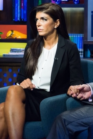 Teresa Giuidice and Joe Giudice on WWHL