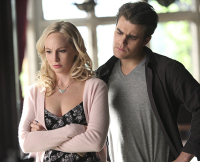 Caroline and Stefan on TVD Season 6