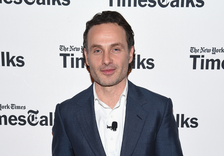 Andrew Lincoln in New York City on February 2, 2015