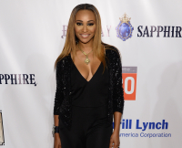 Cynthia Bailey Attends Russell Simmons' Rush Philanthropic Arts Foundation 20th Anniversary Benefit at Fairview Farms on July 18, 2015 in Water Mill, New York