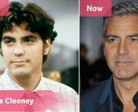 George Clooney Then and Now