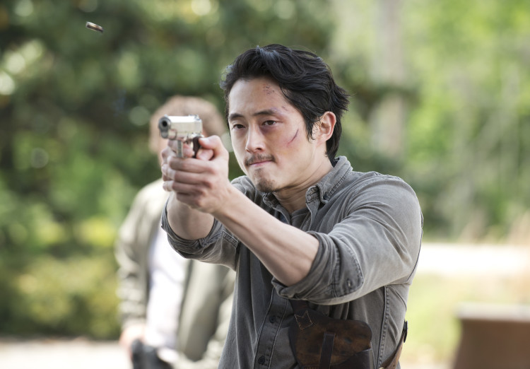 Glenn Walking Dead Season 6 Premiere