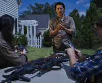 Glenn Rhee in The Walking Dead Season 6