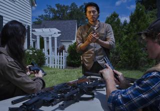 Glenn Rhee in The Walking Dead Season 6