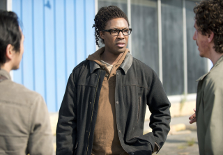 Heath, Glenn and Nicholas The Walking Dead Season 6 Premiere