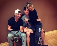 Kim Zolciak-Biermann and Kroy Biermann With Tony Dovolani