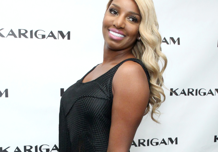 NeNe Leakes at NYFW on September 11, 2015