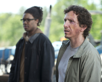 Nicholas and Heath Walking Dead Season 6 Premiere