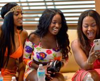 Porsha Williams, Shamea Morton, and Phaedra Parks in Real Housewives of Atlanta Season 8