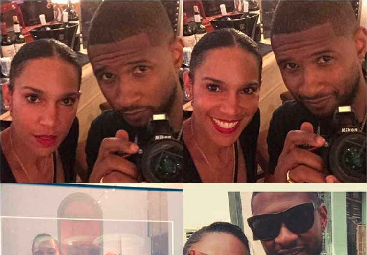 Usher and Rumored Wife Grace Miguel Honeymooning in Cuba