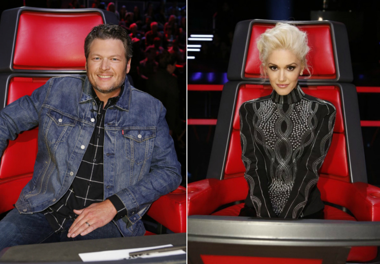 is gwen stefani dating blake shelton images