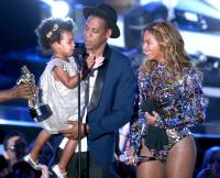Blue Ivy, Jay Z, Beyonce
